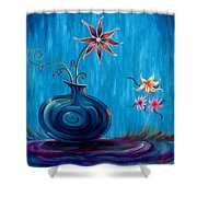 Aloha Rain Shower Curtain