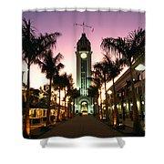 Aloha Tower Marketplace Shower Curtain
