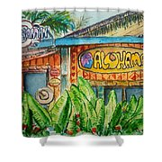 Alohaman Shower Curtain