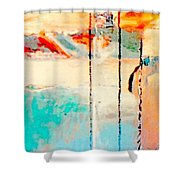 Alone Together  Shower Curtain