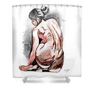 Alone Too Shower Curtain