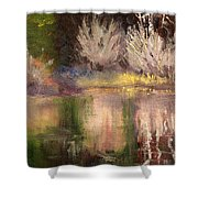 Along The Bank Shower Curtain