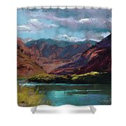 Along The Colorado Shower Curtain