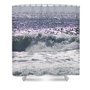 Along The Costal Highway Shower Curtain