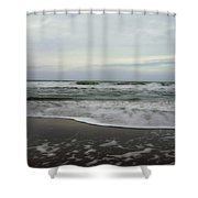 Along The Great Highway Shower Curtain