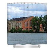 Along The Maumee Shower Curtain