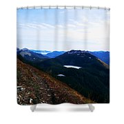 Along The Mt Defiance Trail Shower Curtain