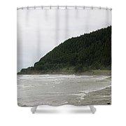 Along The Oregon Coast - 4 Shower Curtain