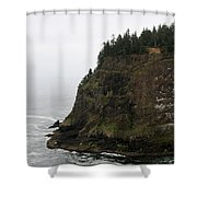 Along The Oregon Coast - 6 Shower Curtain