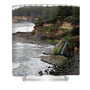 Along The Oregon Coast - 7 Shower Curtain
