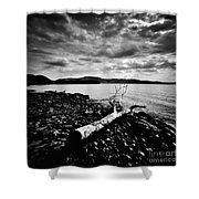 Along The Riverbank Of Beacon Shower Curtain