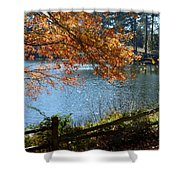 Along The Road Shower Curtain