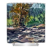 Along The Russian River Shower Curtain