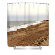 Along The Tide Line Shower Curtain