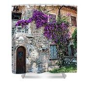 Along The Via Appia Antica Shower Curtain