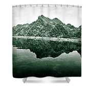 Along The Yen River Shower Curtain