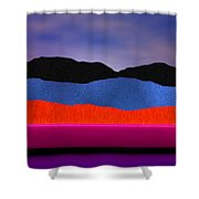 Alpenglow Shower Curtain