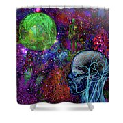 Alpha And Omega Electromagnetic Shower Curtain