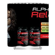 Alpha Hard Reload Shower Curtain