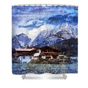Alpine Bliss Shower Curtain