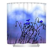 Montana Blue Bells Shower Curtain