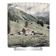 Alpine Farm Shower Curtain