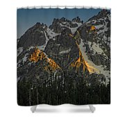 Alpine Glow Shower Curtain