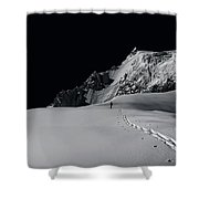 Alpine Journey Shower Curtain