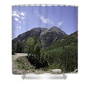 Alpine Loop Trail Shower Curtain