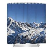 Alpine Panorama Shower Curtain