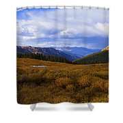 Alpine Pond Shower Curtain