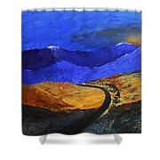 Alpine Vista Shower Curtain