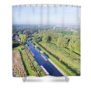 Alrewas Canal Shower Curtain
