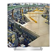 Als Beamlines And Inner Ring Shower Curtain