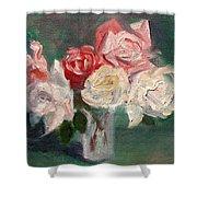 Altadena Roses Shower Curtain