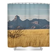 Altar Valley  Shower Curtain