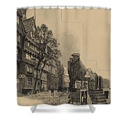 Alte Strasse Shower Curtain