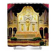 Alter - Cathedral Of St. Augustine Shower Curtain