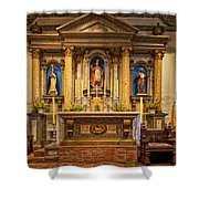 Alter Of The Mission San Buenaventura Shower Curtain