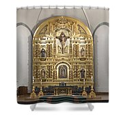 Alter San Juan Capistrano Shower Curtain