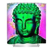 Altered Buddha Shower Curtain