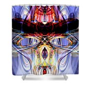 Altered States Abstract Shower Curtain