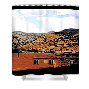 Alternate Landscape Shower Curtain