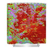 Alternating Currents 4 Shower Curtain