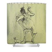 Alternative Death Shower Curtain
