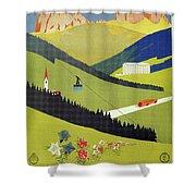 Alto Adige South Tyrol Shower Curtain