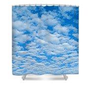 Alto-cumulus Shower Curtain