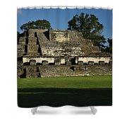 Altun Ha Mayan Temple Shower Curtain