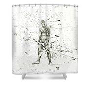 Alu16004 Shower Curtain