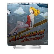 Aluminum Overcast Shower Curtain